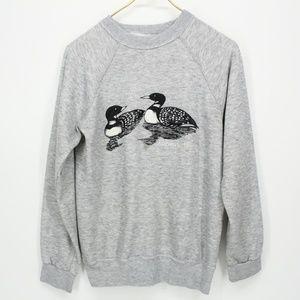 Vintage Pair of Ducks Soft Sweatshirt